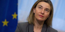 فيديريكا موغريني: الممثلة العليا للاتحاد الأوروبي للشؤون الخارجية والسياسة الأمنية.