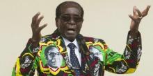 روبيرت موغابي الرئيس السابق لزيمبابوي.