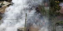 جانب من أعمال العنف بكينيا في يوم الاقتراع.