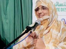 عائشة بنت بونا ـ برلمانية، ورئيسة المنظمة النسائية لحزب تواصل
