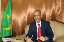 وزير التهذيب الوطني والتكوين التقني والإصلاح محمد ماء العينين ولد أييه خلال مقابلة سابقة مع الأخبار