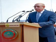 الرئيس محمد ولد الغزواني خلال خطابه في افتتاح المنتديات (وما)