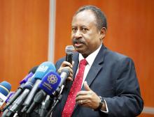 عبد الله حمدوك: رئيس الوزراء السوداني