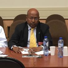 عضو لجنة التحقيق البرلمانية النائب الدان ولد عثمان