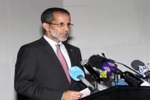 الوزير الأول إسماعيل ولد بده ولد الشيخ سيديا