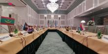 وزراء الخارجية العرب خلال اجتماعهم التشاوري أمس الاثنين