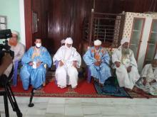 بعض العلماء والأئمة خلال ندوة حول الموضوع بجامعة التوفيق في نواكشوط