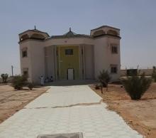 المنزل الذي منحه النائب للسلطات لتحويله إلى مكان للحجر الصحي في الطينطان