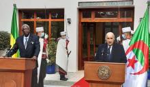 الرئيسان الجزائري عبد المجيد تبون والمالي باه نداو