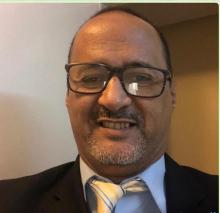 محمد سالم ولد الداه  نقيب الصحفيين الموريتانيين