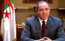 وزير الشؤون الخارجية الجزائري صبري بوقدوم