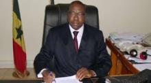 مانكير انداي وزير الشؤون الخارجية السنغالي.
