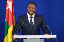 الرئيس التوغولي فور نياسينغبي