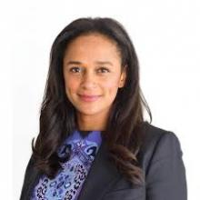إزابيل دوس سانتوس ابنة الرئيس الأنغولي السابق خوسيه إدواردو دوس سانتوس.