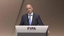 جياني إنفانتينو رئيس الاتحاد الدولي لكرة القدم.