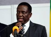 إميرسون منانغوا الرئيس الزيمبابوي.