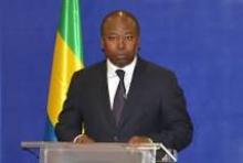 ٱلين اكلود بيلي باي انزي وزير الثقافة الناطق باسم الحكومة الغابونية.