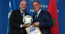 رئيس الجامعة الملكية لكرة القدم ورئيس الاتحاد الدولي لكرة القدم ـ (وكالات)