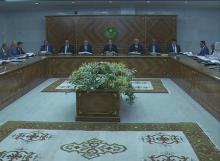 مجلس الوزراء الموريتاني خلال اجتماع سابق.