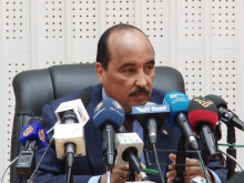 الرئيس الموريتاني محمد ولد عبد العزيز.