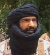 عدنان أبو الوليد الصحراوي أمير تنظيم الدولة الإسلامية بمنطقة الساحل.