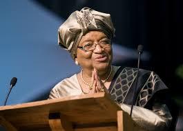 إيلين جونسون سيرليف رئيسة ليبيريا.