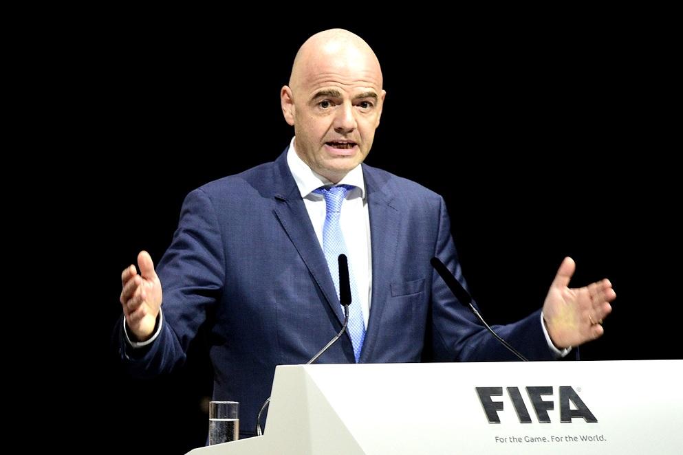 رئيس الاتحاد الدولي لكرة القدم جياني إينفانتينو