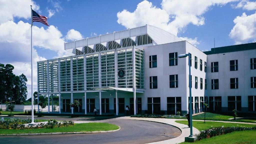 مبنى السفارة الأمريكية بالعاصمة نيروبي.