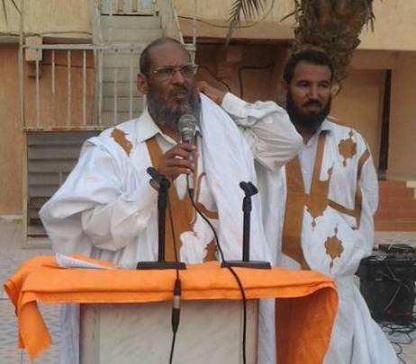 رئيس منتدى العلماء والأئمة بموريتانيا الإمام والشيخ أحمد فال ولد صالح